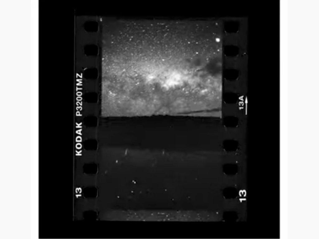 Αυτό το TimeLapse του Γαλαξία μας έγινε με φιλμ!