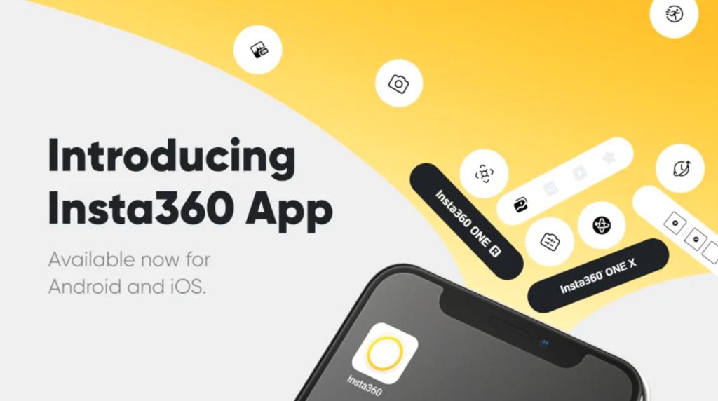 Insta360: Λάνσαρε μία εφαρμογή κατάλληλη για τις Insta360 One R και One X
