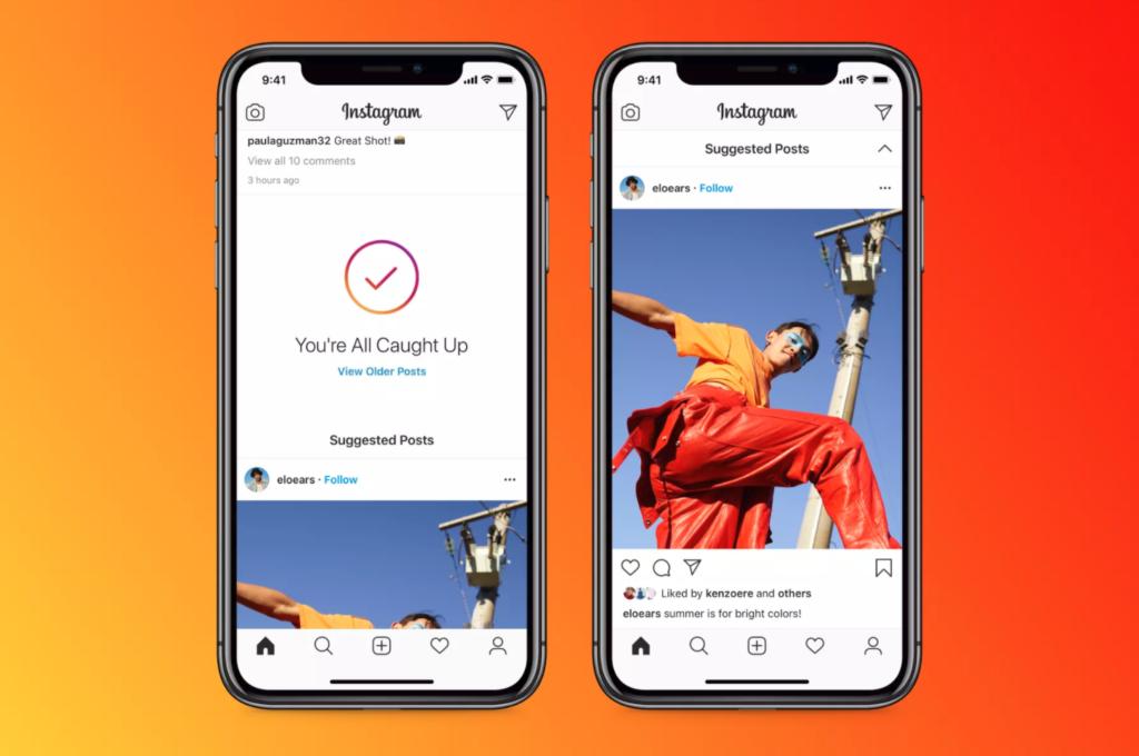 Instagram: Φέρνει τα suggested posts στο feed σου!