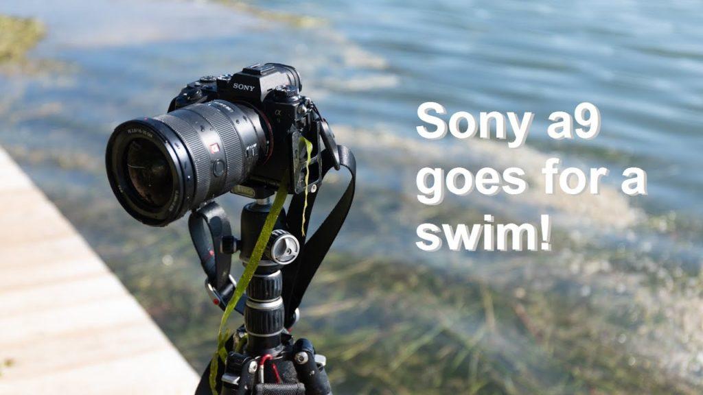 Δείτε σε βίντεο πως ψαρεύεις μία Sony a9 από τον βυθό μιας λίμνης!