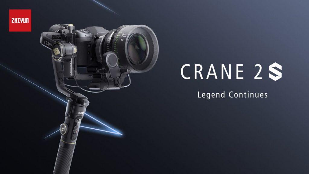 Zhiyun Crane 2S: Νέο Gimbal  με δυνατότητα χρήσης με κάμερες μέχρι 4.5 κιλά και πολλές βελτιώσεις