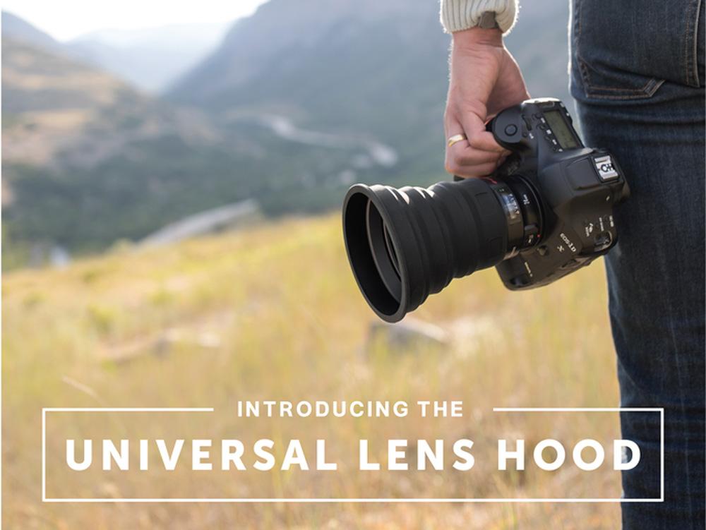 KUVRD: Παρουσίασε το Universal Lens Hood, ένα hood για όλους τους φακούς!