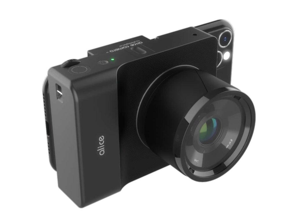 Η Alice Camera έχει ως οθόνη το smartphone σου και δέχεται φακούς Micro Four Thirds!