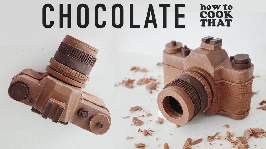 Δείτε πως να φτιάξετε μία τέλεια κάμερα από σοκολάτα!