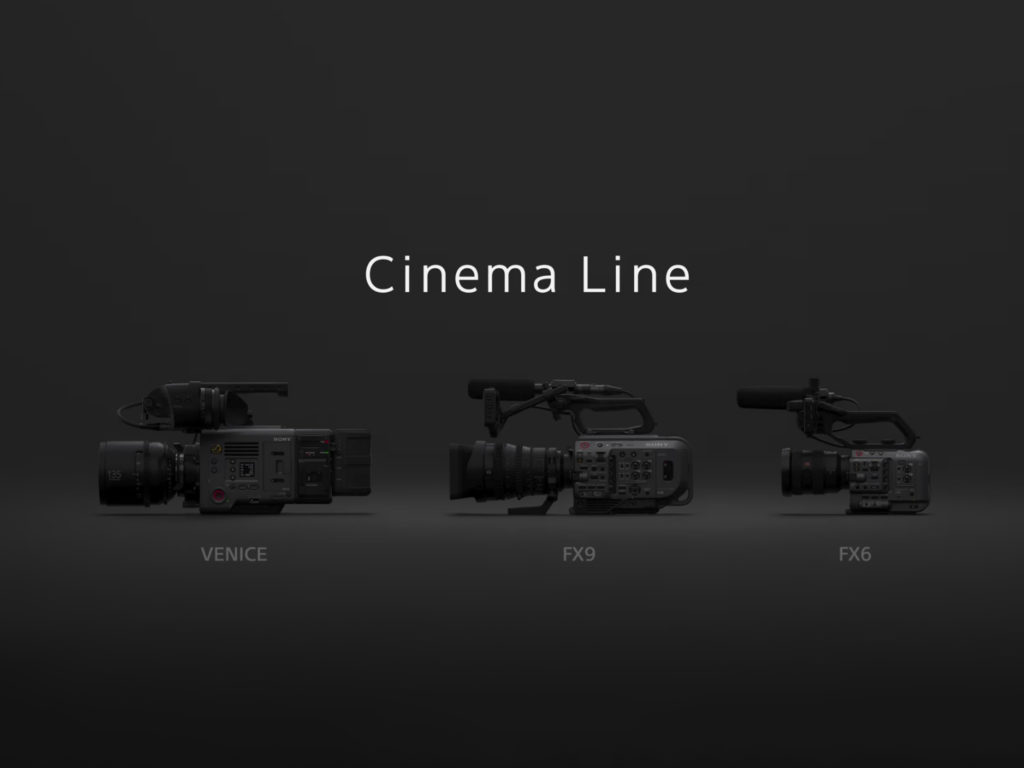 Sony Cinema Line: Νέα σειρά καμερών για δημιουργούς βίντεο, έρχεται η Sony FX6!