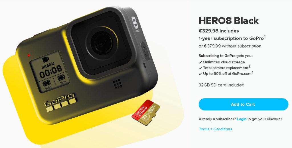 GoPro Hero8 Black: Μείωση τιμής λόγω της Hero9!