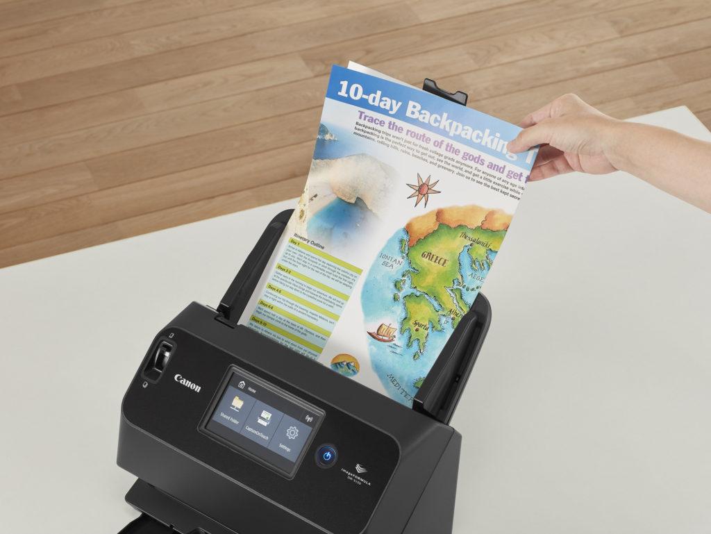 H Canon παρουσιαζει το scanner imageFORMULA DR-S130 με WiFi, Bluetooth και σάρωση 60 εικόνων ανά λεπτό!