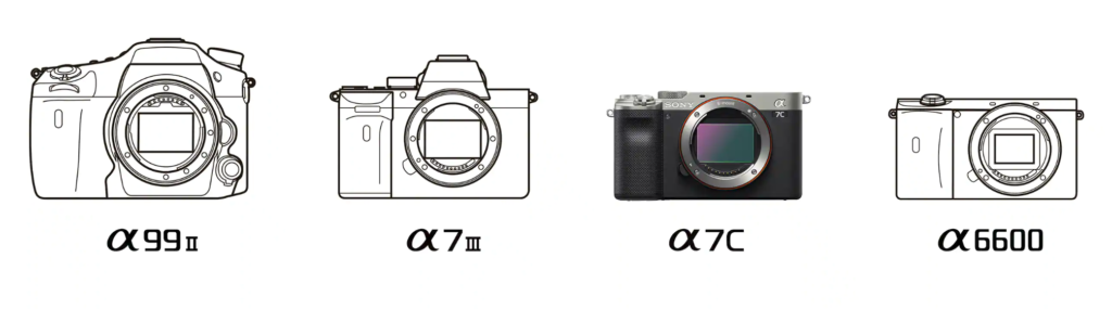 /></p><h2>Περιεχόμενα Συσκευασίας:</h2><ul><li>Sony Alpha a7C Mirrorless Digital Camera (Body Only)</li><li>Sony NP-FZ100 Rechargeable Lithium-Ion Battery (2280mAh)</li><li>AC Adapter</li><li>USB Type-A to USB Type-C Cable</li><li>Shoulder Strap</li><li>Sony ALC-B1EM Body Cap for E-Mount Cameras</li><li>Accessory Shoe Cap</li></ul></div><div class=
