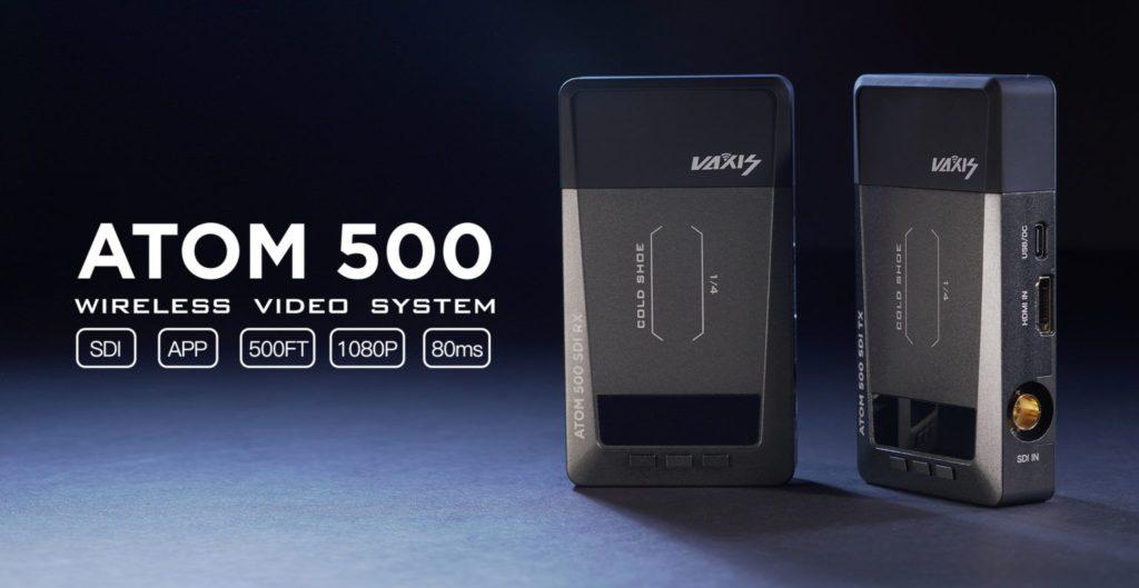 Vaxis Atom 500: Ασύρματη μετάδοση βίντεο μέσω HDMI/SDI στην τιμή των 459 δολαρίων!