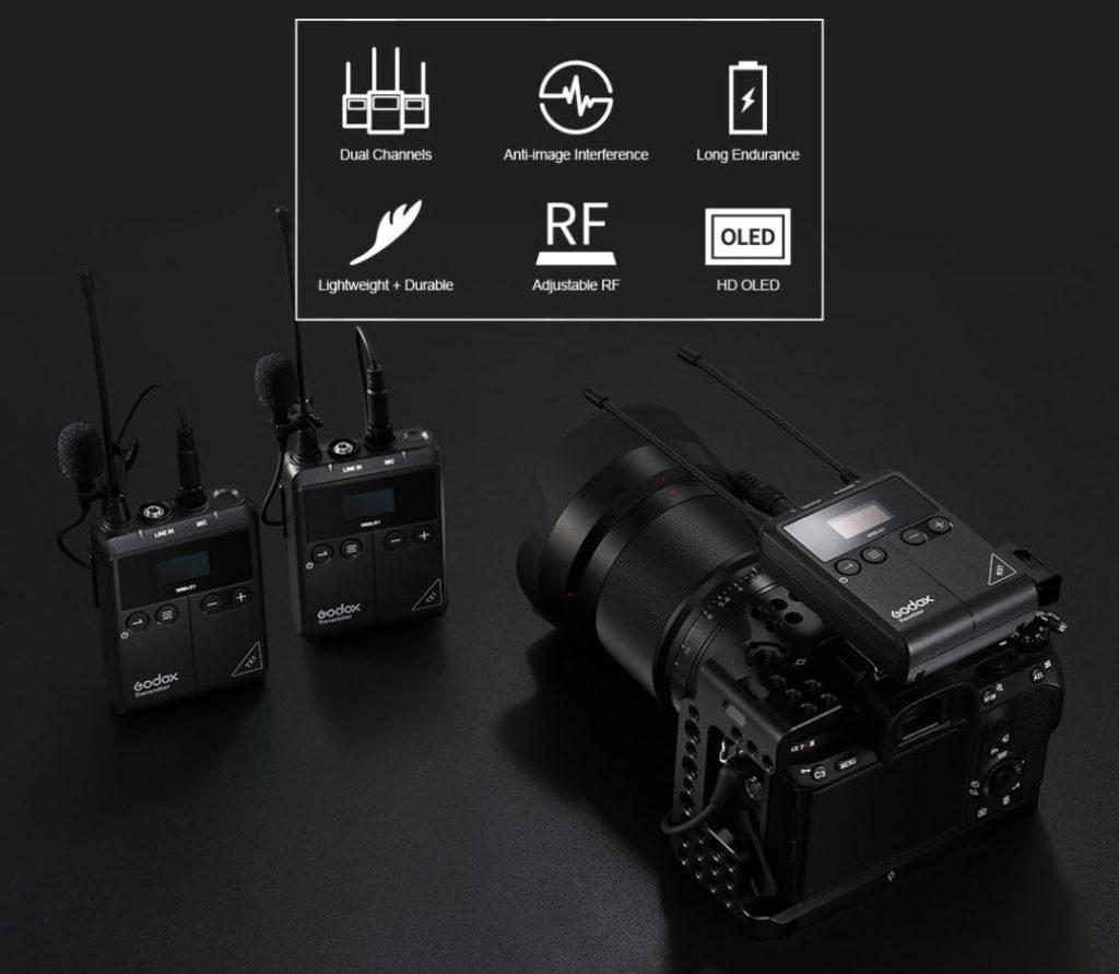 H Godox ανακοίνωσε τα πρώτα της μικρόφωνα, μπαίνοντας και στην αγορά του ήχου!