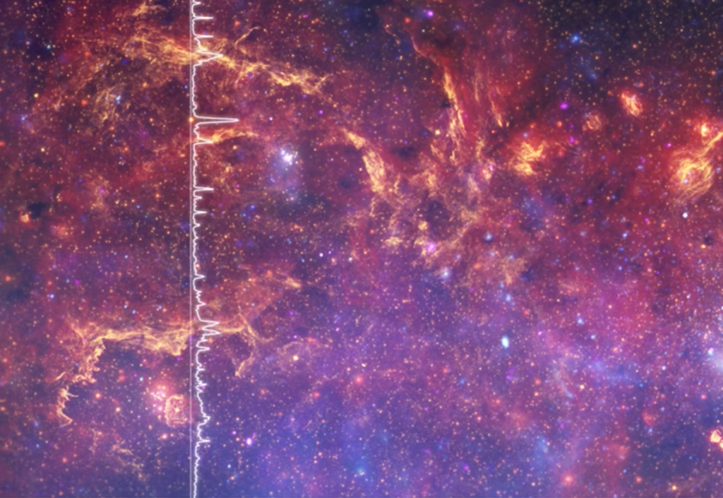 NASA: Μετάφρασε σε μουσική την εικόνα του κέντρου του Γαλαξία μας για πρώτη φορά και το αποτέλεσμα είναι επικό!