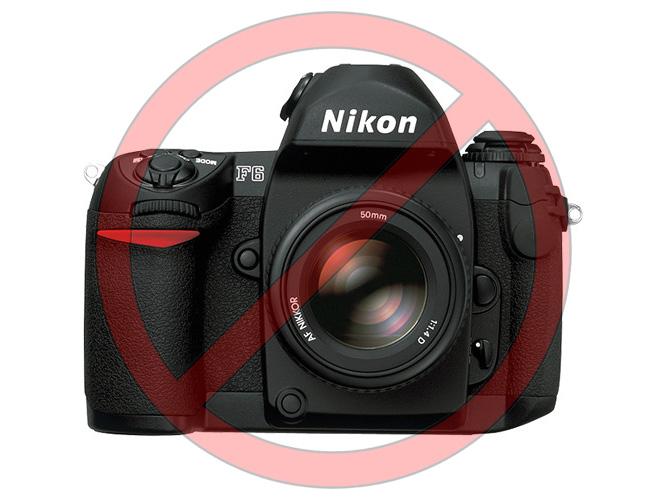 Nikon: Σταματάει η διάθεση της Nikon F6, της τελευταίας φιλμ SLR κάμερας!