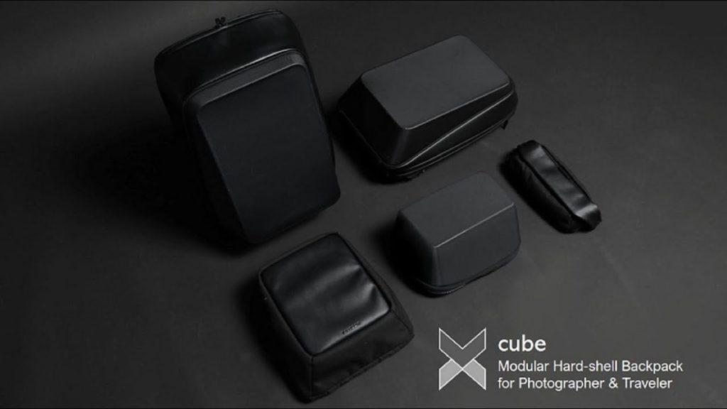 "Xcube: Μιά ""σκληρή"" τσάντα για φωτογράφους που έχει modular σχεδιασμό!"