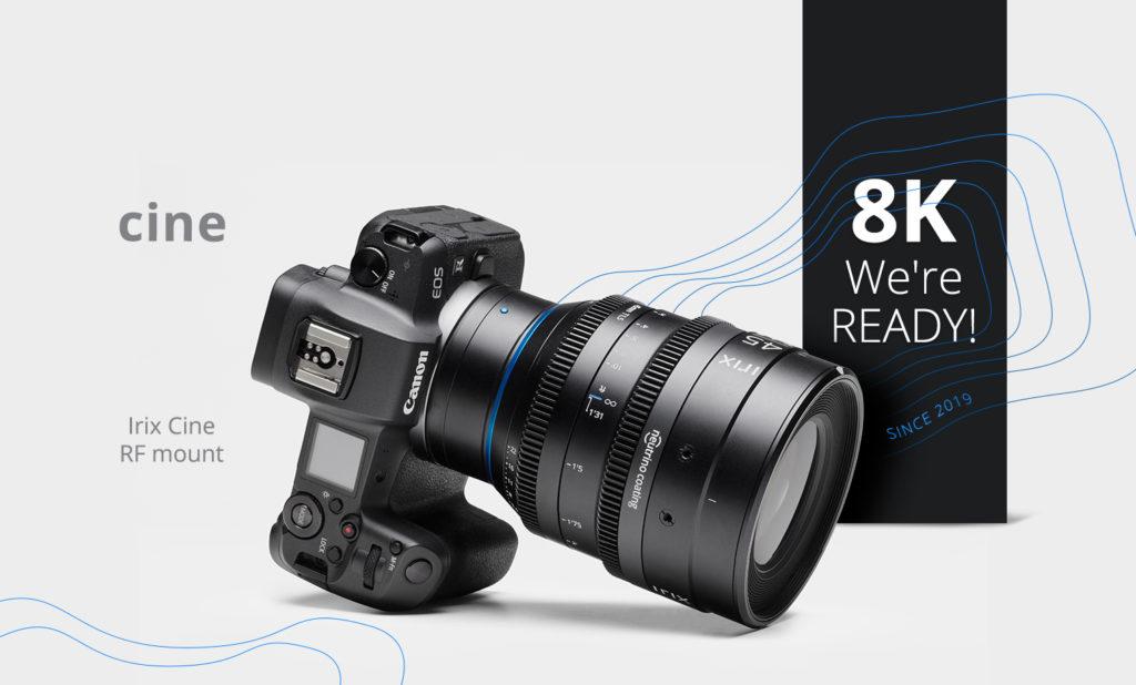 Οι κινηματογραφικοί φακοί της Irix διαθέσιμοι και για Canon EOS κάμερες με RF mount!