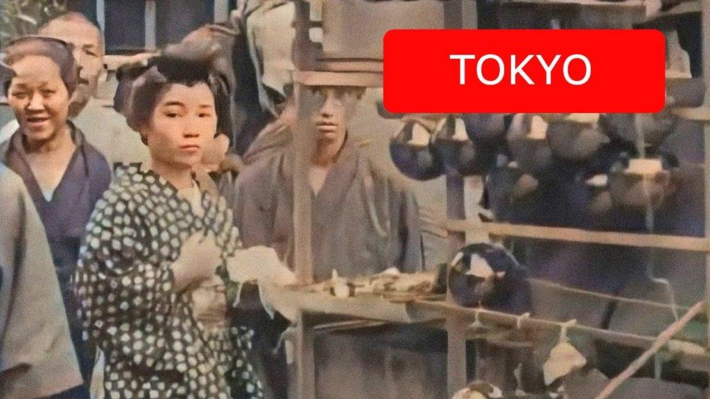 Δείτε έγχρωμο βίντεο από το Τόκιο του 1913-1915 σε ανάλυση 4Κ 60fps!