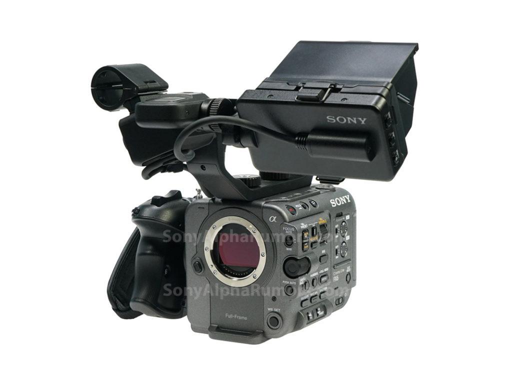 Sony PXW-FX6: Φωτογραφία και τεχνικά χαρακτηριστικά, ανακοινώνεται στις 17 Νοεμβρίου!
