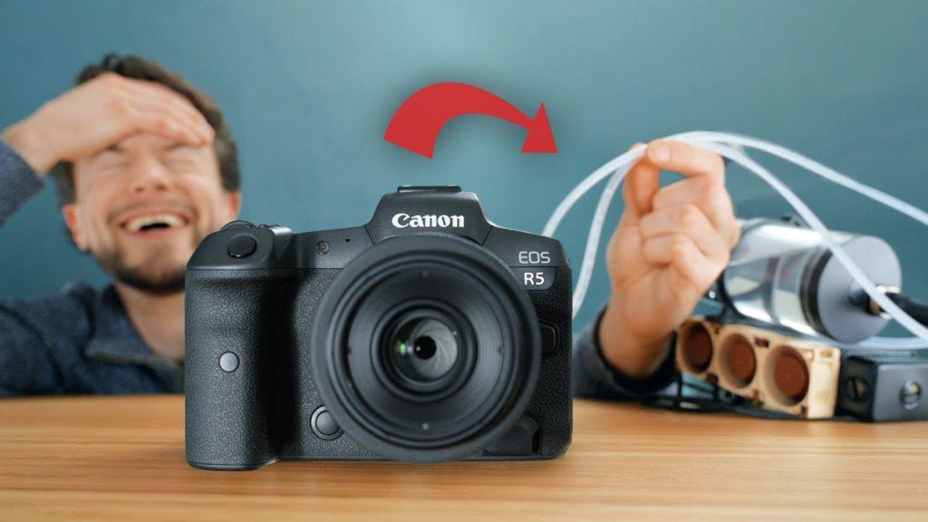Αυτή η Canon EOS R5 δεν υπερθερμαίνεται γιατί έχει υδρόψυξη!