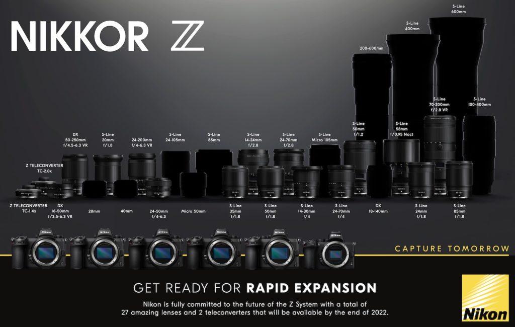 Nikon: Νέος roadmap φακών για το σύστημα Nikon Ζ, υπόσχεται ταχεία ανάπτυξη του συστήματος!