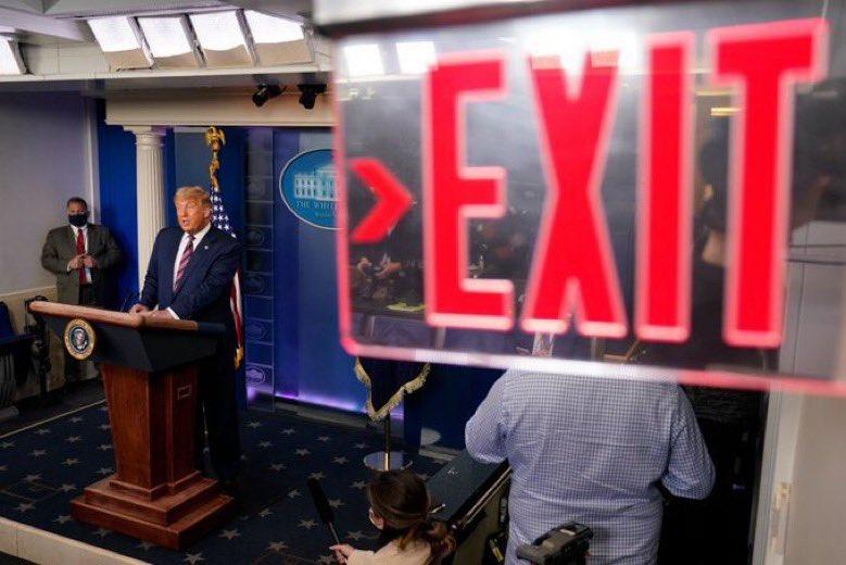 Εκλογές Η.Π.Α.: Μία λήψη που κάνουν πολλοί φωτογράφοι! Αντιγραφή ή καταγραφή των γεγονότων;