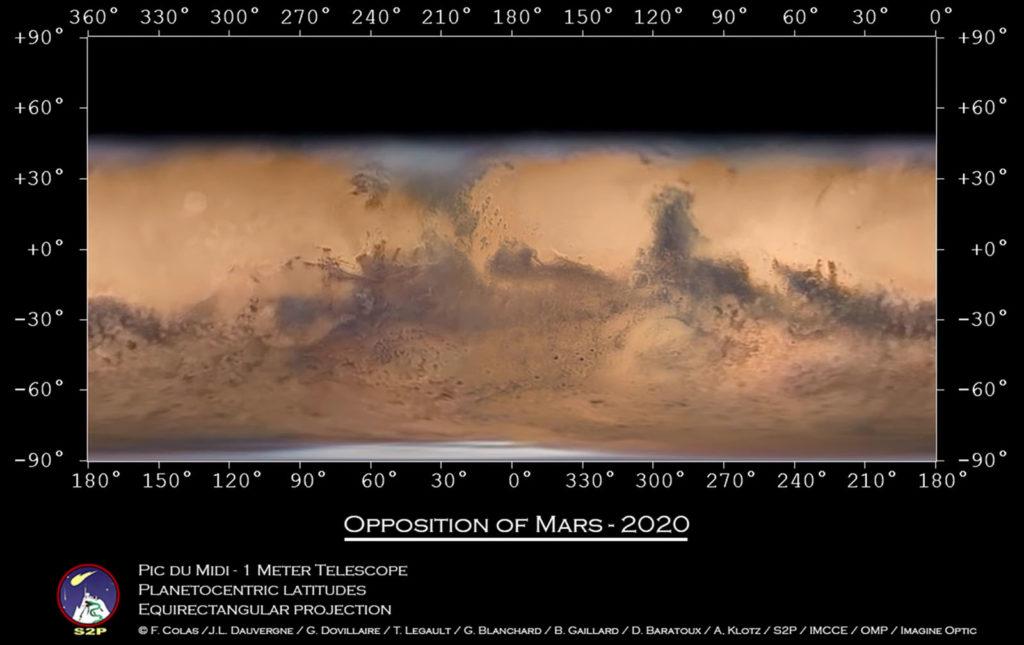 Αστροφωτογράφος δημιούργησε τον παγκόσμιο χάρτη του Άρη!