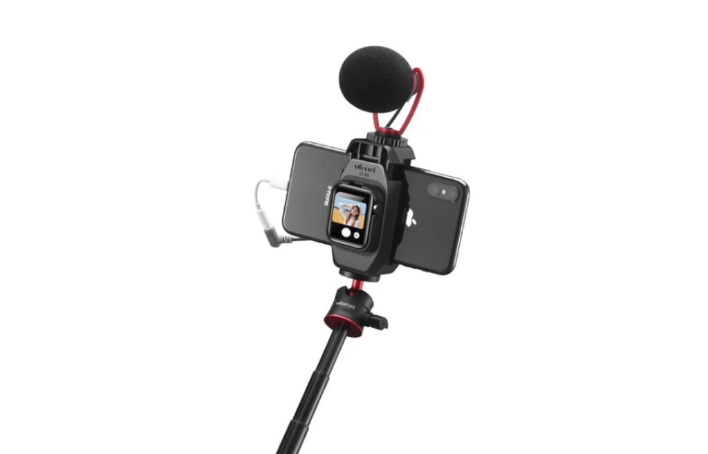 Ulanzi ST-09: Ειδικό mount για να χρησιμοποιήσεις το Apple Watch ως selfie οθόνη για το iPhone!