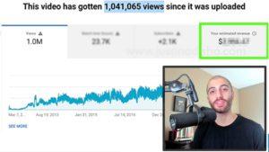 Πόσα χρήματα κερδίζεις από ένα βίντεο στο YouTube με 1 εκατομμύριο views;