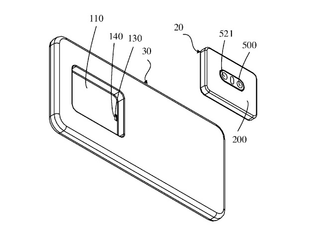 H Oppo ετοιμάζει smartphone με αφαιρούμενο module καμερών;