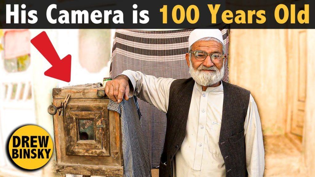 """Αυτός ο φωτογράφος στο Αφγανιστάν χρησιμοποιεί μία """"αρχαία"""" κάμερα 100 ετών!"""