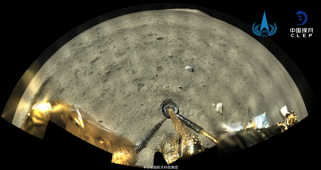 Αυτή η έγχρωμη εικόνα της επιφάνειας της Σελήνης, έχει ανάλυση 119 megapixels και την έβγαλε η CNSA!