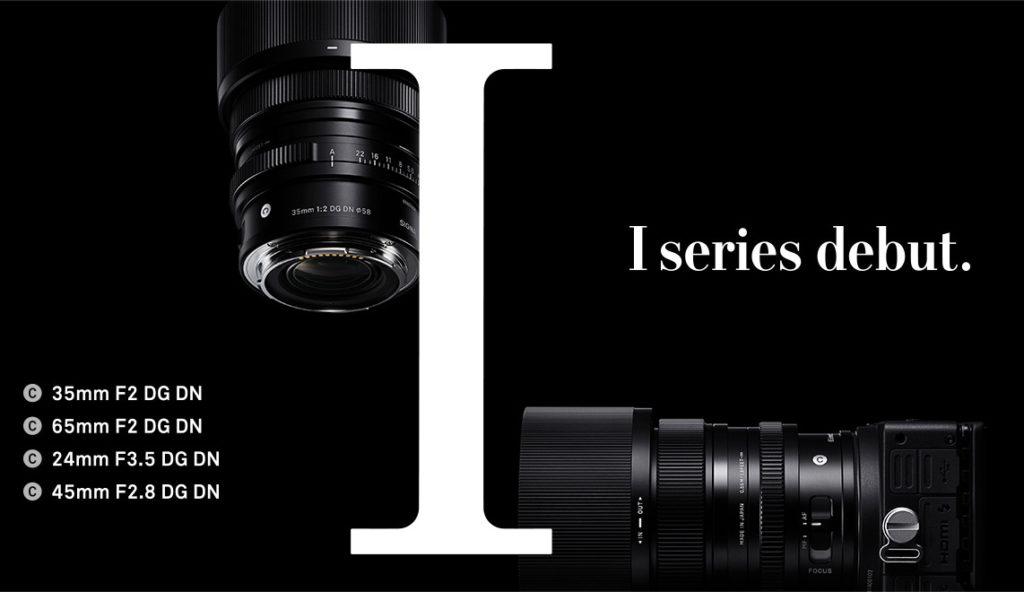 Ανακοινώθηκε η νέα σειρά φακών SIGMA I, με τους 24mm F3.5 DG DN, 35mm F2 DG DN και 65mm F2 DG DN