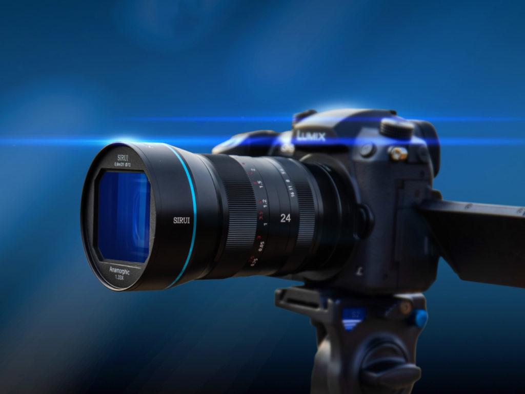 Sirui: Διαθέσιμος ο νέος αναμορφικός φακός Sirui 24mm F2.8 1.33x στην Indiegogo, με έκπτωση 25%!