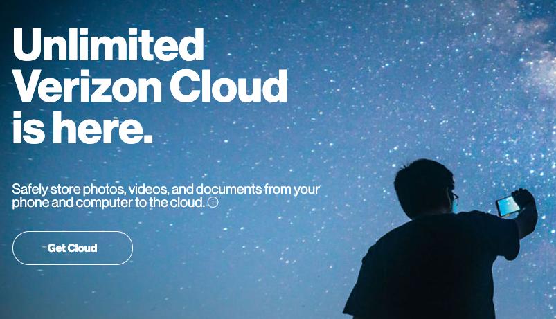 Η Verizon προσφέρει cloud αποθήκευση με απεριόριστο χώρο, στα 20 δολάρια το μήνα!