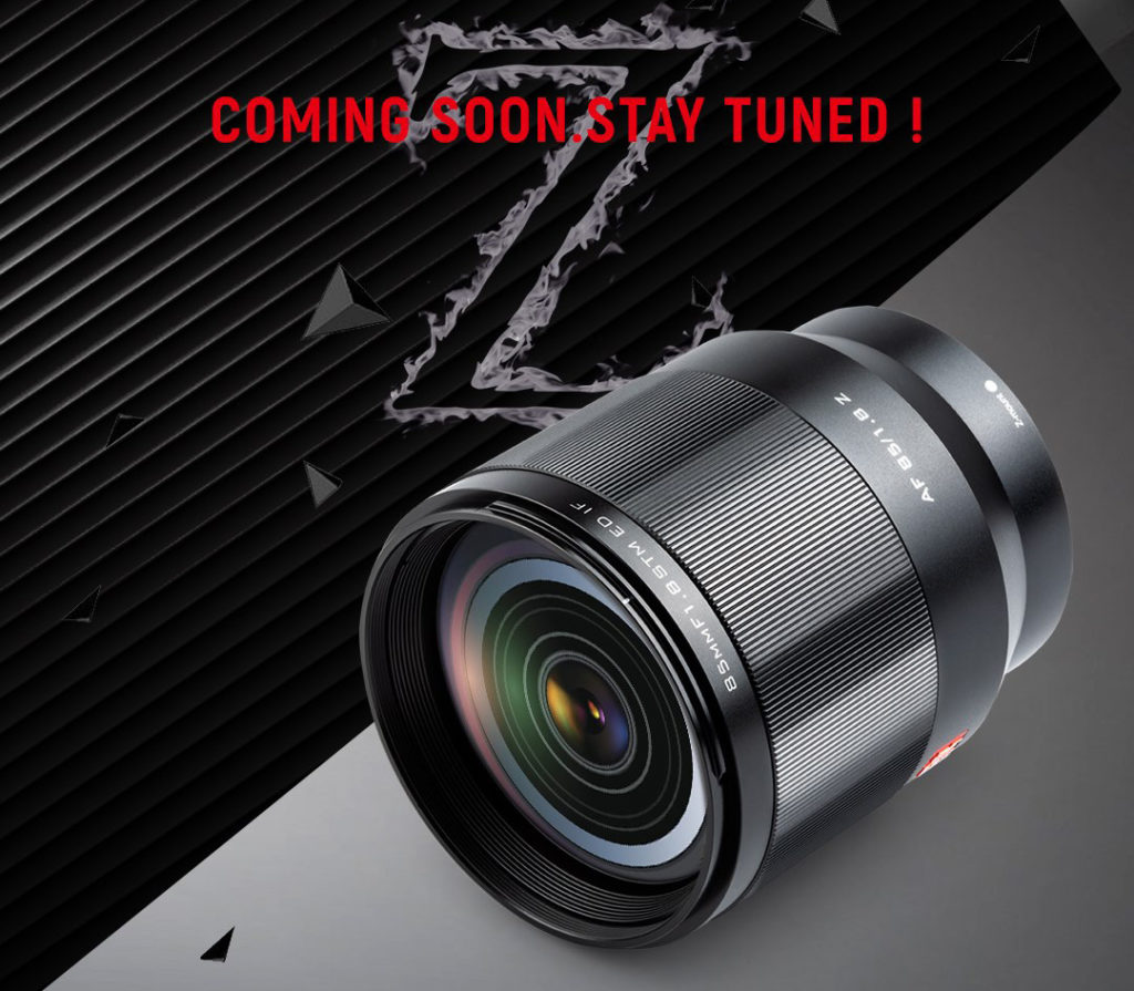 Viltrox: Επίσημο teaser για τον πρώτο prime AF φακό για το σύστημα Nikon Z!