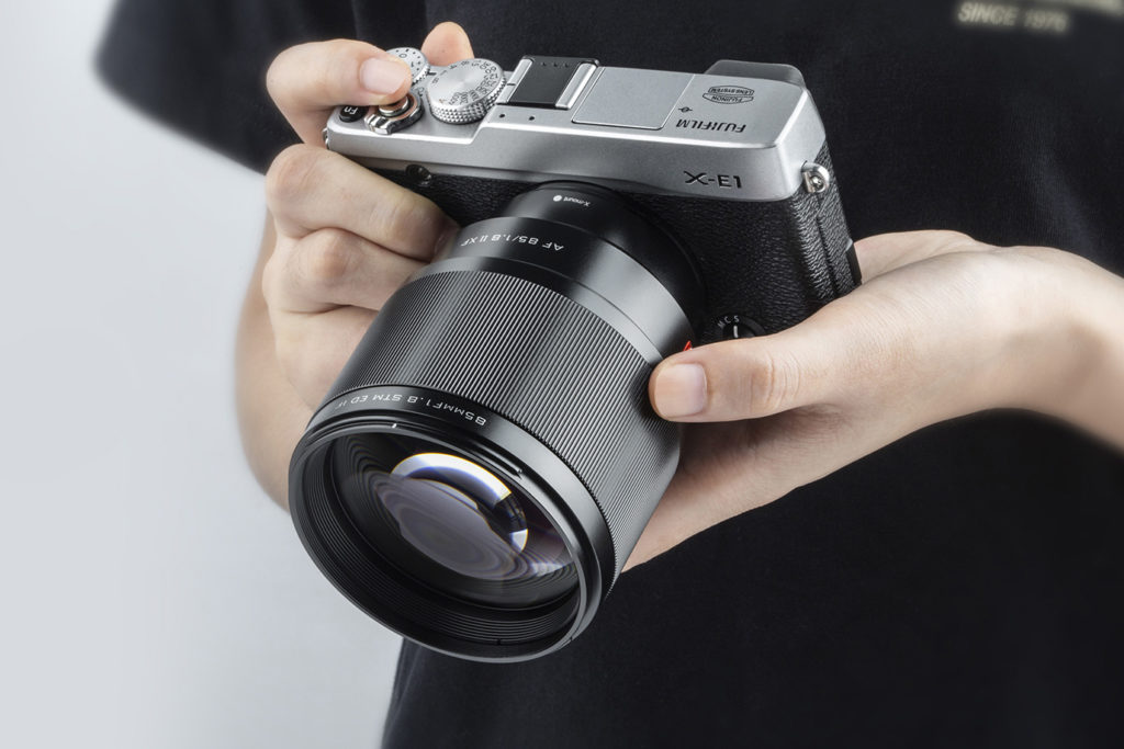 Αναβάθμιση Firmware για τον Viltrox 85mm F1.8 XF!