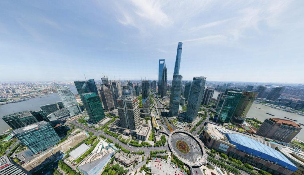 Κινεζική εταιρεία κατέγραψε την Σαγκάη σε εικόνα 360 μοιρών, ανάλυσης 195 gigapixels!
