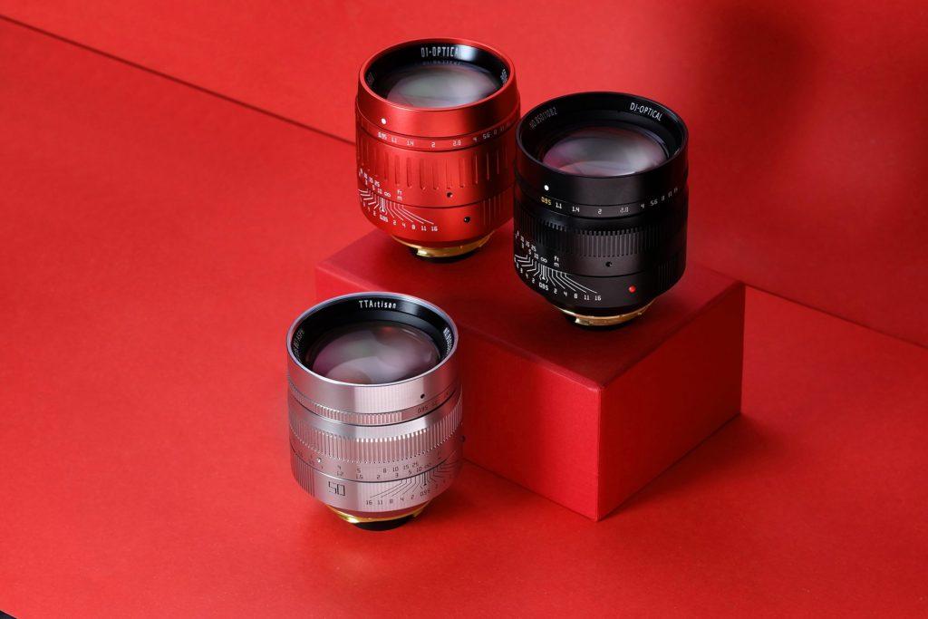 TTArtisan:  Κυκλοφόρησε ειδική κόκκινη έκδοση του φακού της στα 50mm με f/0.95!