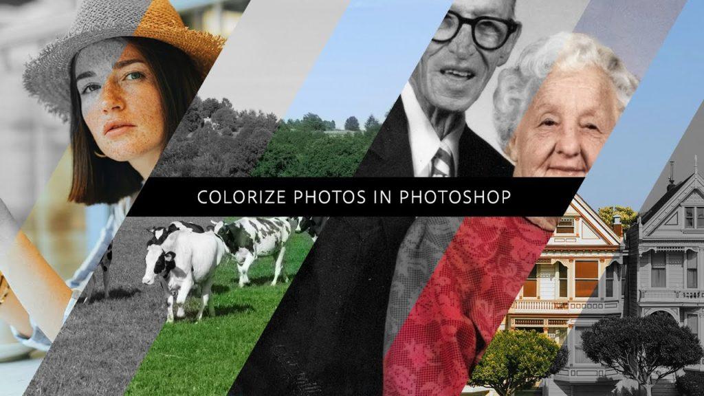 Adobe Photoshop: Κάνε τις ασπρόμαυρες φωτογραφίες  σου έγχρωμες, με ένα κλικ!