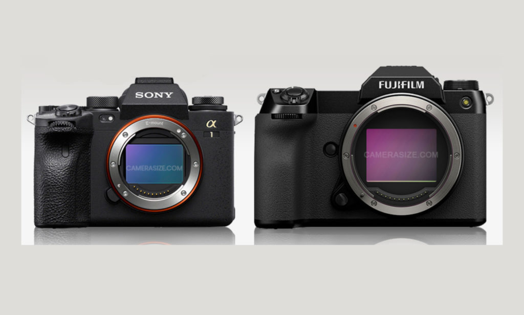 Fujifilm GFX100S vs Sony a1 vs Canon EOS R5 vs Nikon Z 7 II vs Panasonic Lumix S1R: Σύγκριση του μεγέθους τους!