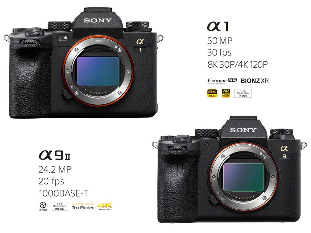 Sony a1 vs Sony a9 II: Ποιες είναι οι διαφορές τους;