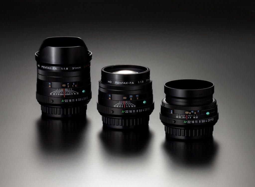 Τρεις νέοι φακοί HD PENTAX-FA Limited στα 43mm, 31mm και 77mm!