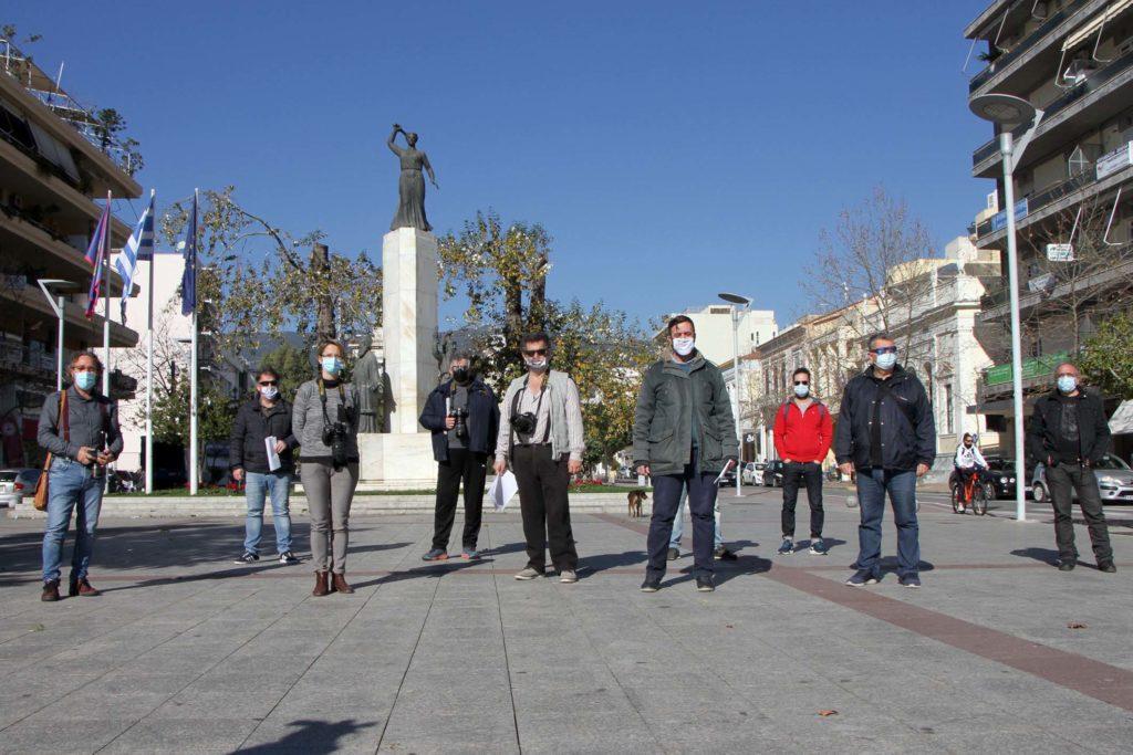 Διαδήλωσαν οι φωτογράφοι στην Καλαμάτα, προτείνουν νέα μέτρα στήριξης για τον κλάδο!