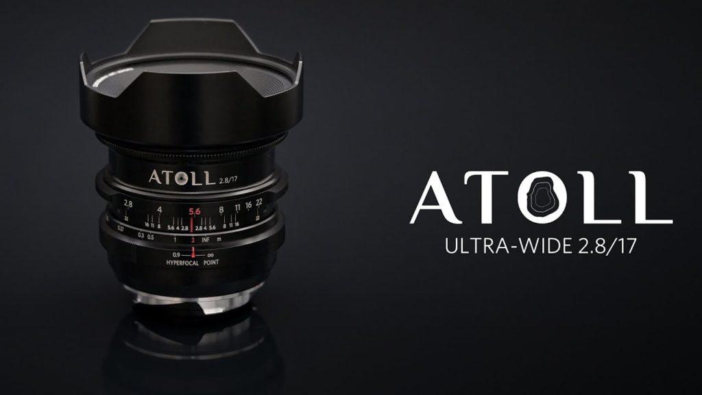 Lomography Atoll Ultra-Wide 2.8/17 Art: Νέος υπερ-ευρυγώνιος φακός για Full Frame mirrorless κάμερες