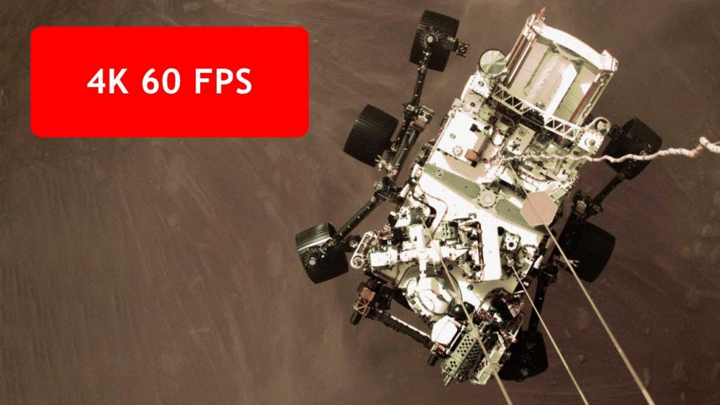 To πρώτο βίντεο στην ιστορία από τον Άρη, σε ανάλυση 4K 60fps και με τον ήχο από την αίθουσα ελέγχου!