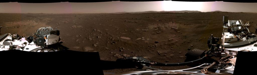 Perseverance Rover: Νέες φωτογραφίες υψηλής ανάλυσης από τον Άρη, ανάμεσα τους και μία πανοραμική!