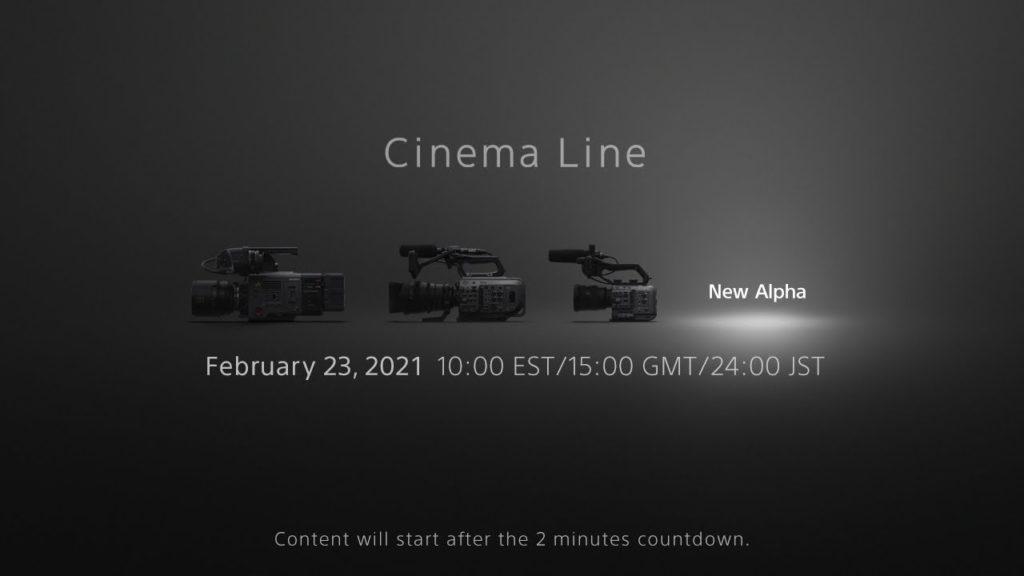 Sony FX3: Είναι επίσημο, Πρεμιέρα  στις 23 Φεβρουαρίου!