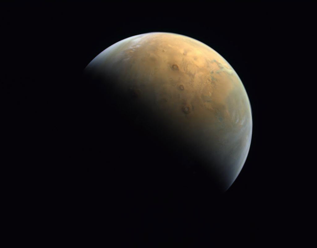Αυτή είναι η πρώτη εικόνα του Άρη από το Hope Probe των Η.Α.Ε.!
