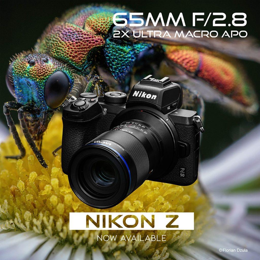Διαθέσιμος ο Laowa 11mm f/4.5 για Canon RF και ο Laowa 65mm f/2.8 2x Macro για Nikon Z!