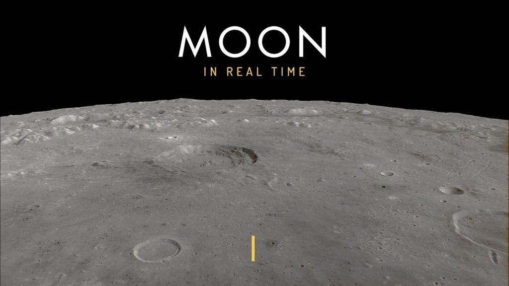 Αυτό το βίντεο σε πάει βόλτα στην Σελήνη και κάνεις τον γύρo της μέσα σε 4 ώρες!