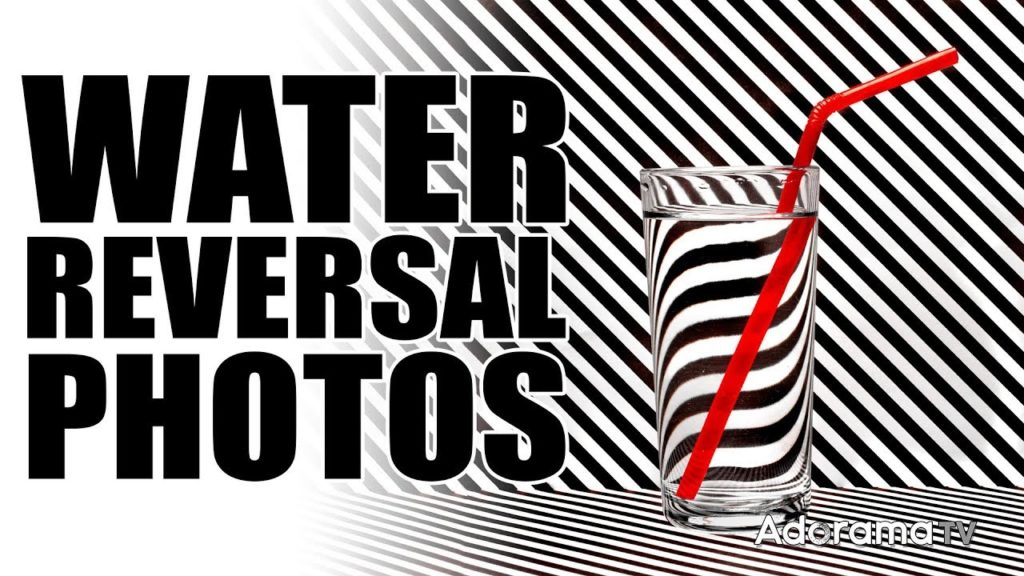 Πως να φωτογραφίσεις μοναδικά μοτίβα μέσα από ένα ποτήρι με νερό (στο σπίτι)!