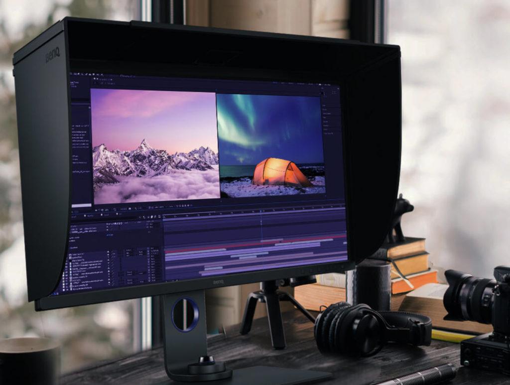 BenQ SW271C: Νέα 4K οθόνη 27″ για φωτογράφους και βιντεογράφους με τιμή 1.600 δολάρια!